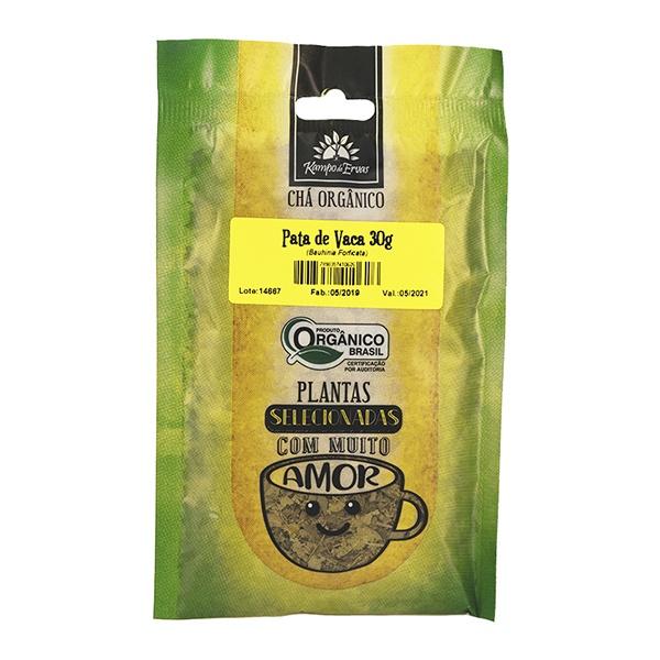 Pata de Vaca Chá Orgânico 100% Folhas Kampo de Ervas 30g