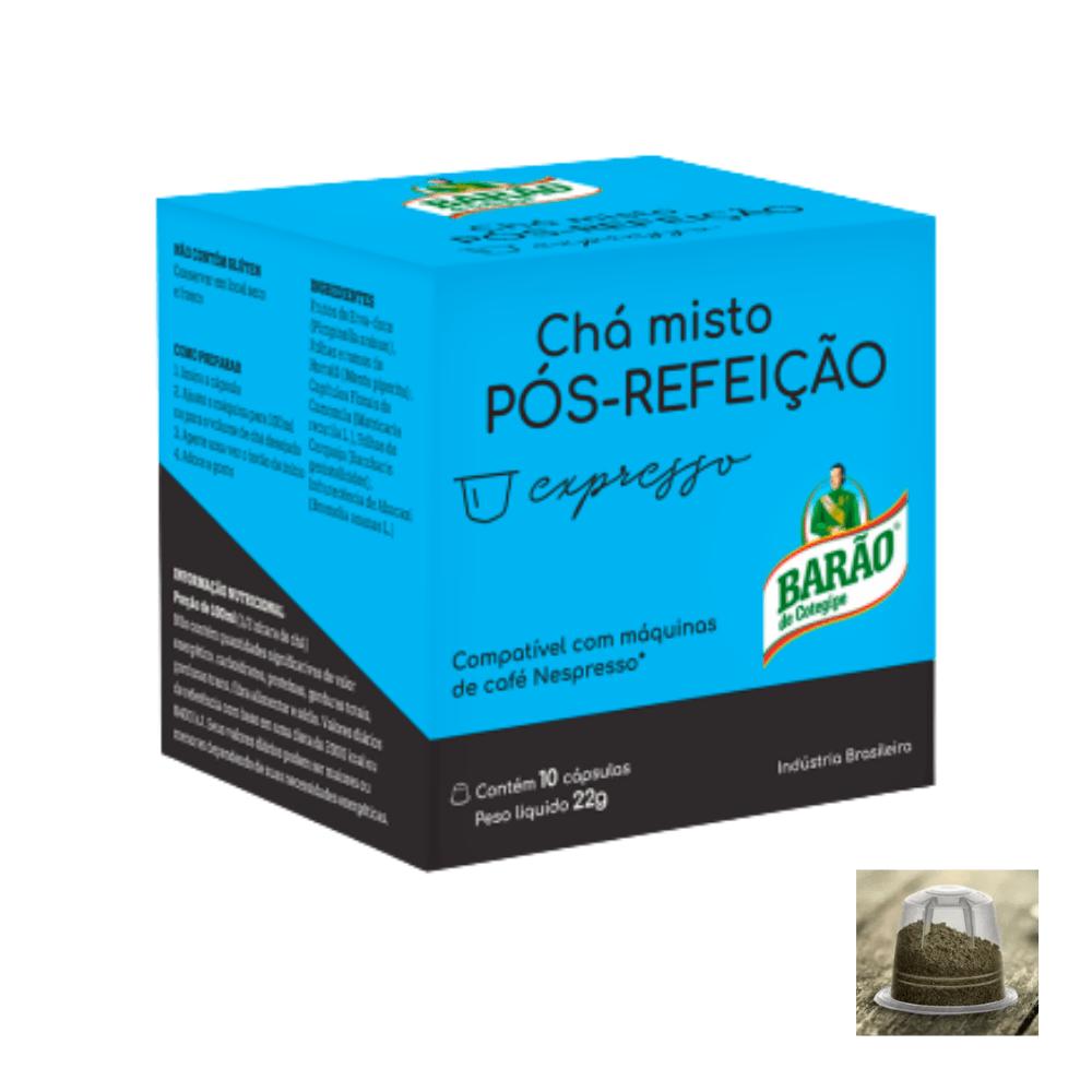 Chá Pós Refeição Cápsula Barão Expresso 10 cápsulas 22g