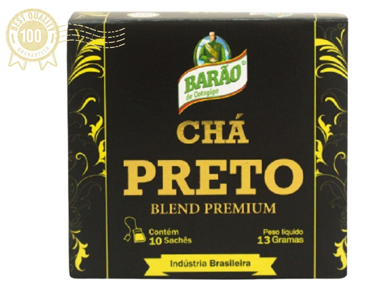 Chá Preto Blend Premium Barão de Cotegipe 10 sachês
