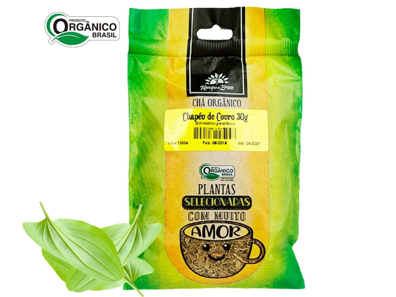 Chapéu de Couro Chá Orgânico só Folhas Kampo de Ervas 30g