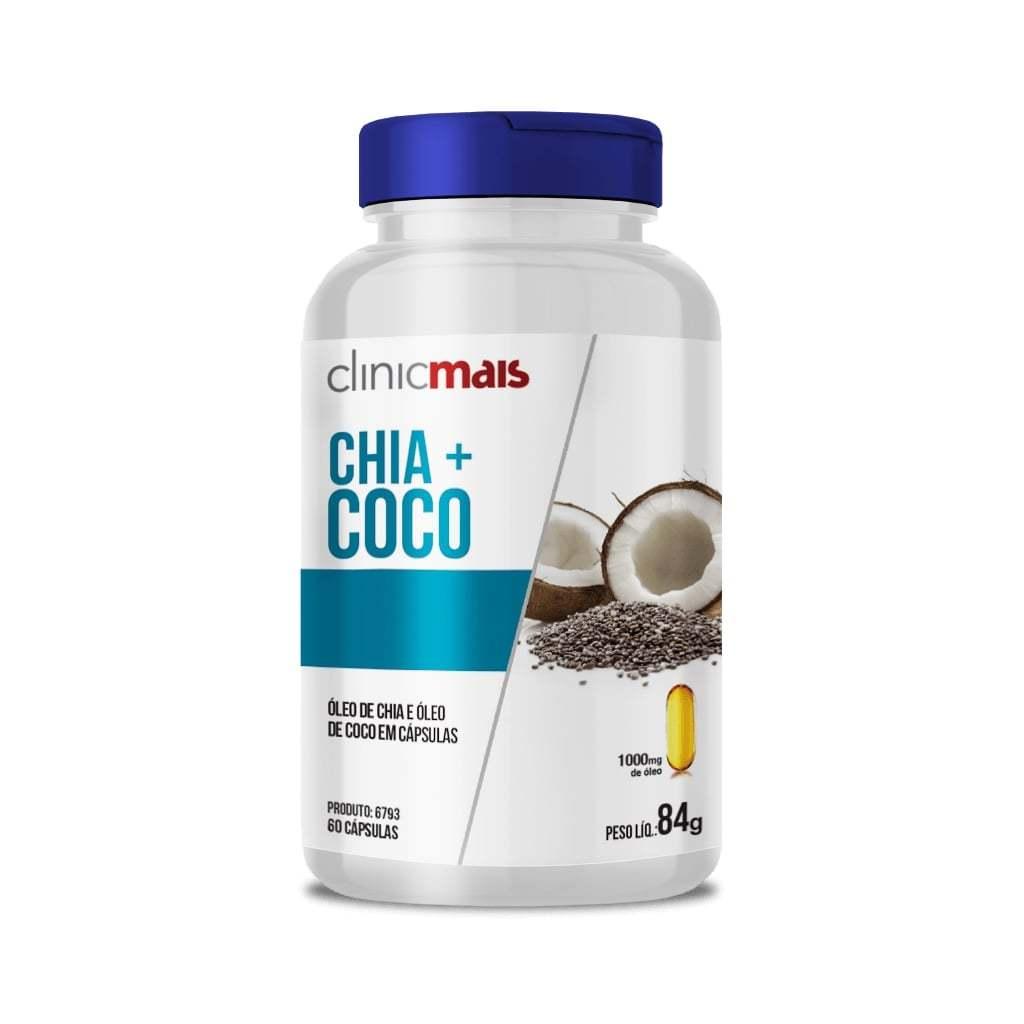 Chia + Coco 60 Cápsulas 1000mg