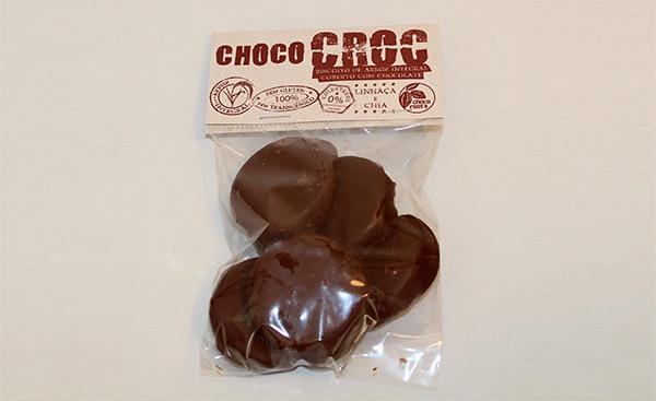 Choco Croc Arroz Integral com Linhaça e Chia - 75gr