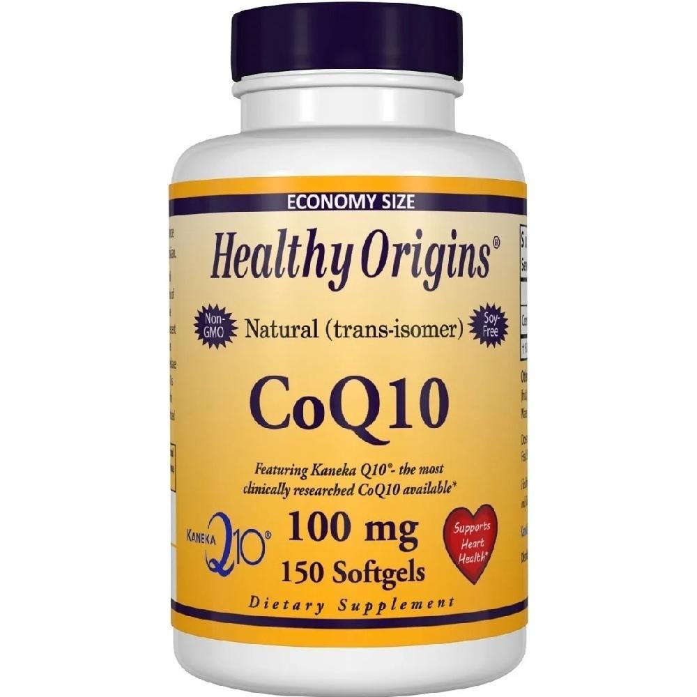 Coenzima Q10 100 mg 150 Softgels Healthy Origins