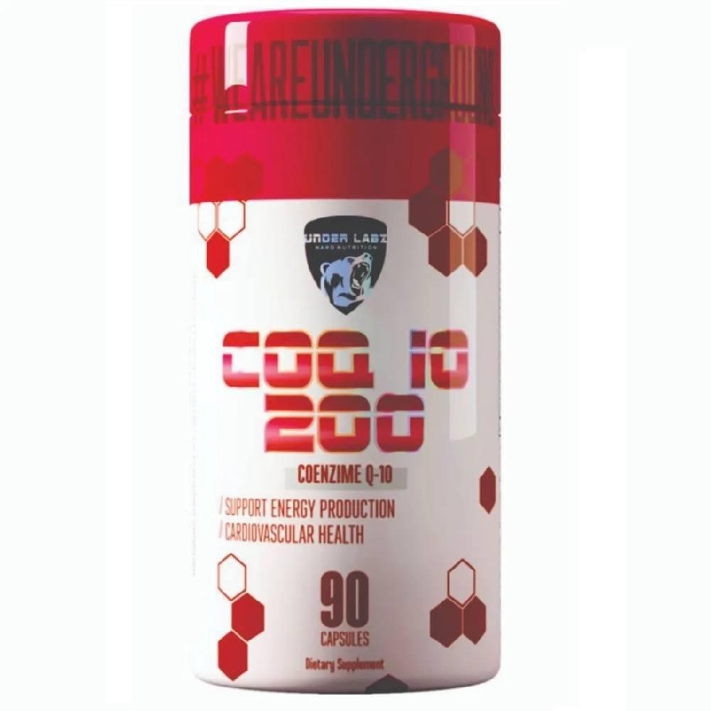 Coenzima Q10 200 mg 90 Cáps. Under Labz