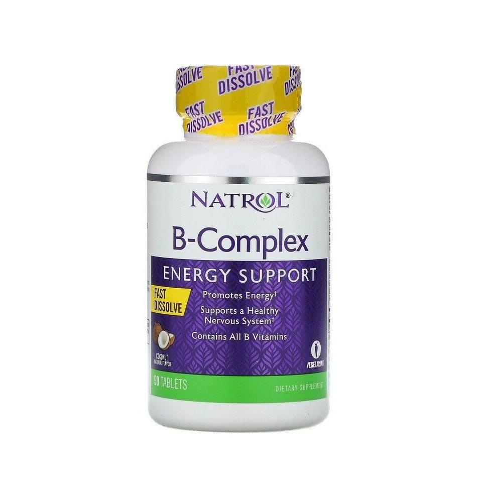 Complexo B 90 Tablets Natrol