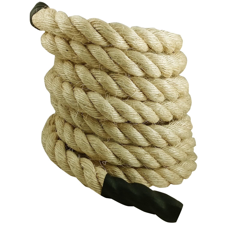 Corda Naval Crossfit Climb Rope Sisal 32mm 6 Mts