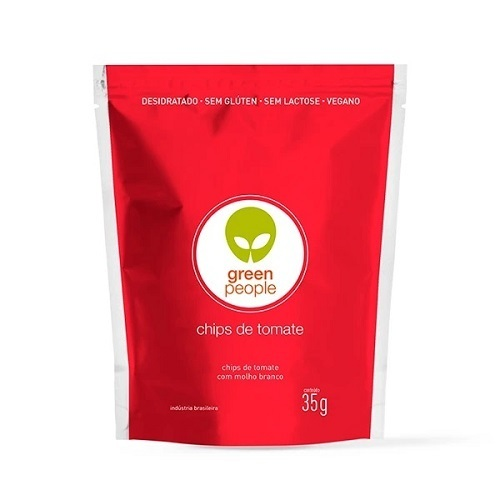 Cracker de Beterraba Snack Desidrat Vegano Greenpeople 45gr