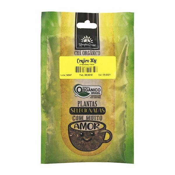 Crajiru Chá Orgânico 100% Folhas Kampo Ervas 6 und 30g cada