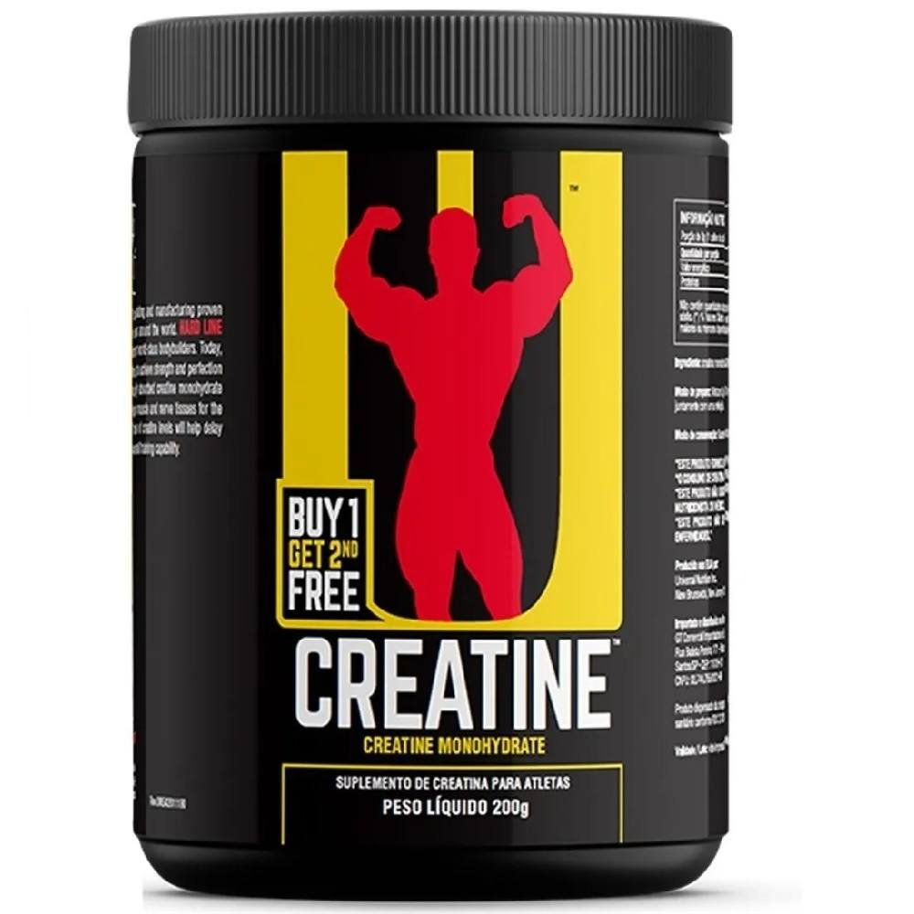 Creatina  Monohidratada 200 g Universal Nutrition