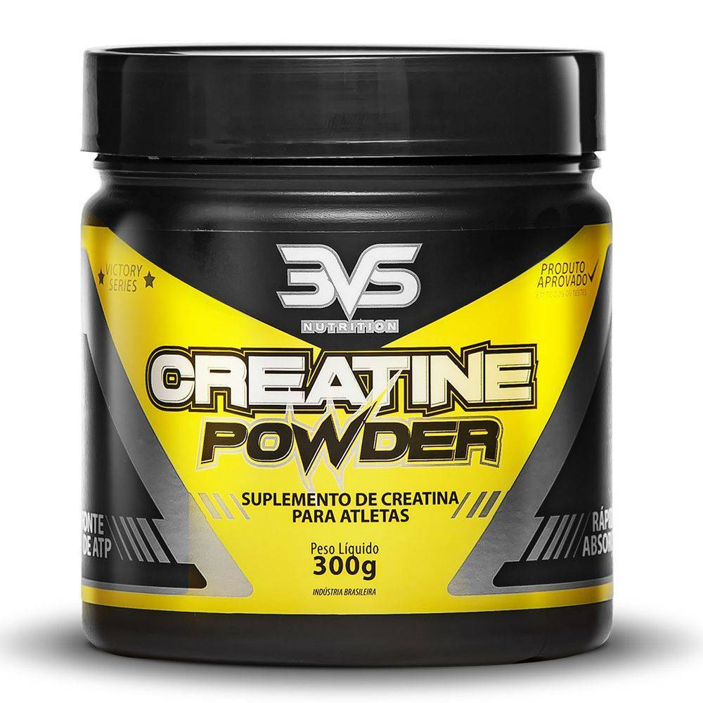 Creatina Powder 3Vs Em Po 300G