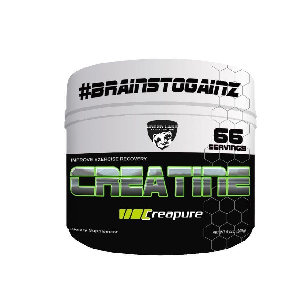 Creatine Monohydrate 200G Under Labz
