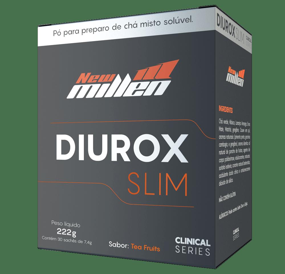 Diurético Diurox Slim 222Gr Tea Fruits New Millen