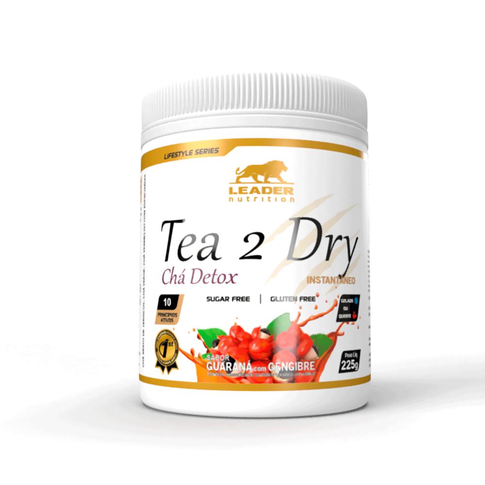 Diurético Tea2Dry Chá Detox 225g Guaraná e Gengibre Leader Nutrition