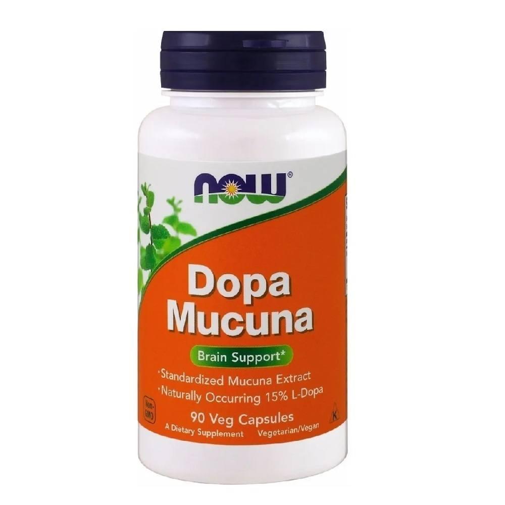 Dopa Mucuna 90 Caps. Now Foods