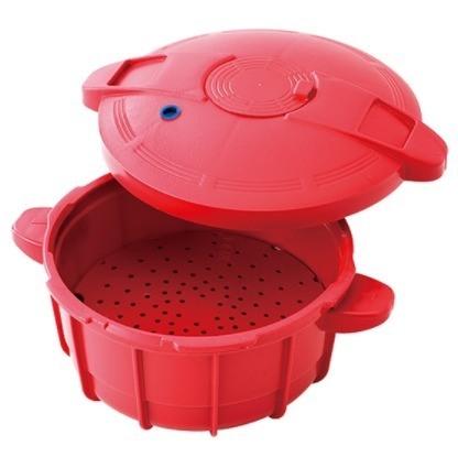 Easy Cooker 2,5L - Vermelha