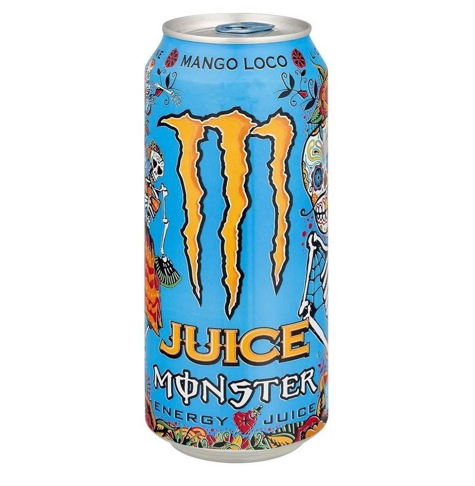 Energetico Monster En Mango Loco Lt473ml