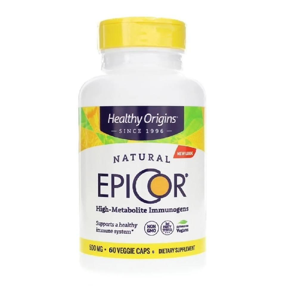 Epicor 500 mg 60 Cáps. Healthy Origins