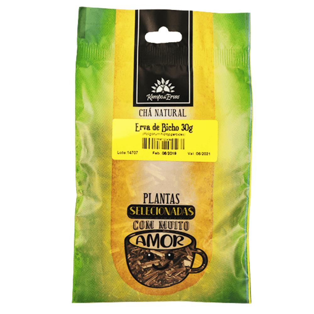 Erva de Bicho Chá de Folha Pura Kampo de Ervas 30g