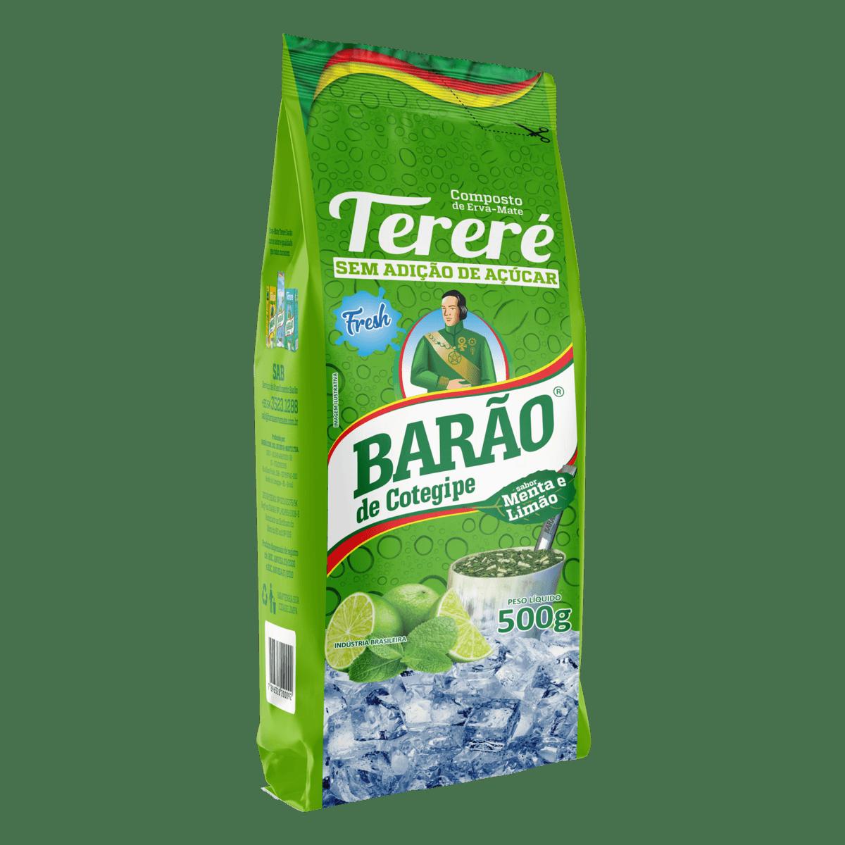 Erva-Mate Tererê Menta Limão Fresh Barão de Cotegipe 500 g