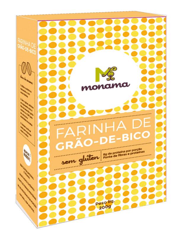Farinha De Grão De Bico 200g - Monama