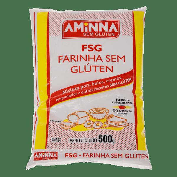 Farinha sem Gluten – Aminna – 500g