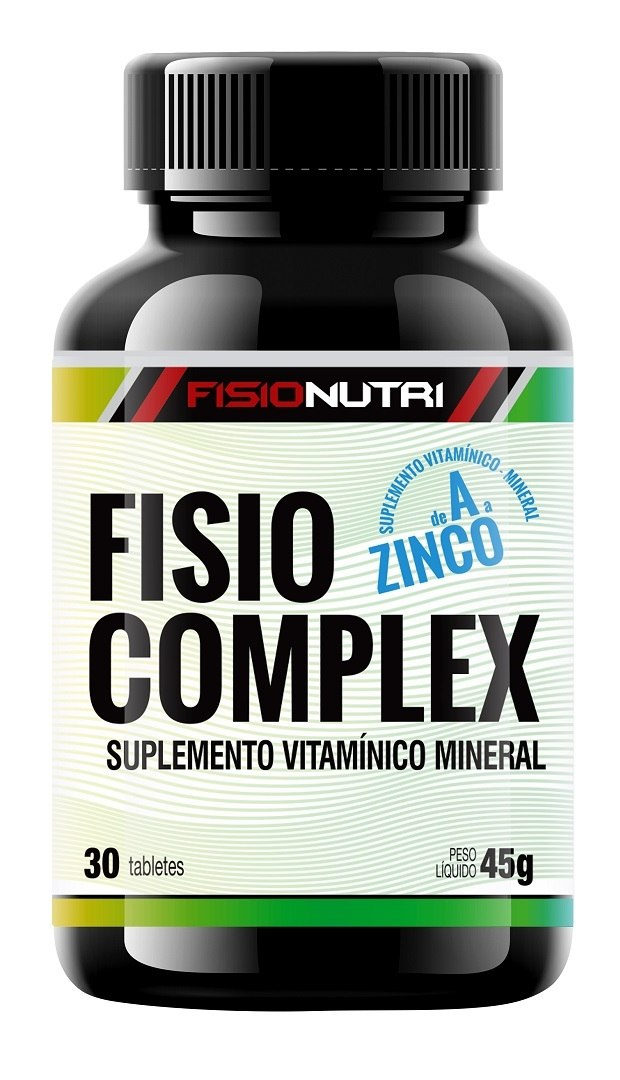 MULTIVITAMINICO FISIO COMPLEX - VITAMINA B6, B12, C, ZINCO