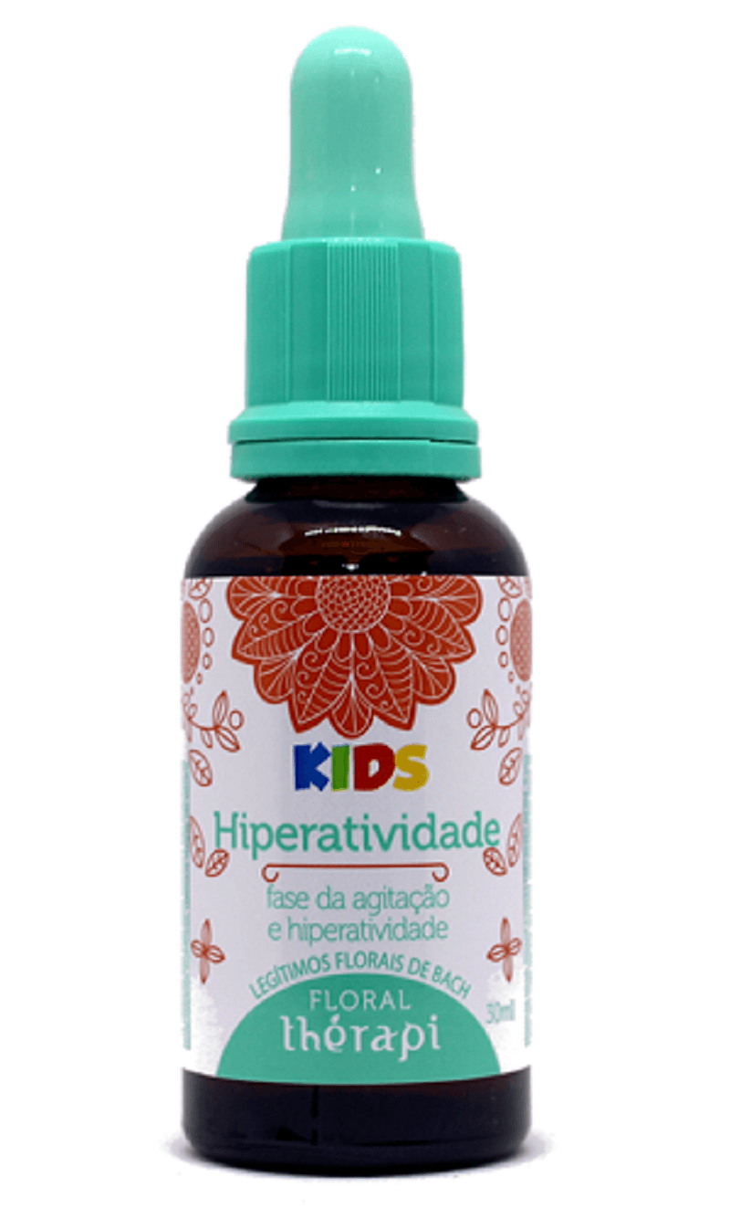 Floral Therapi - Essencias - 30ml - Florais De Bach - Kids Hiperatividade