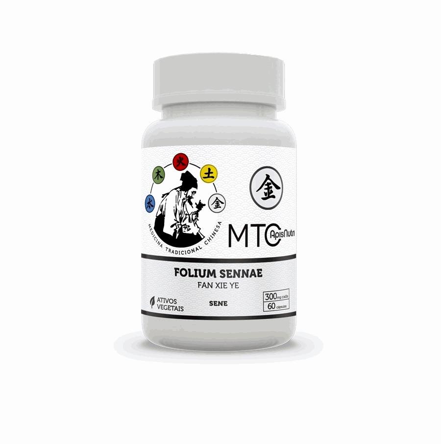 Folium Sennae - 300mg (60 caps) - FAN XIE YE - Linha MTC