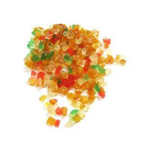 Frutas Cristalizadas - Granel - Embalagem 250gr