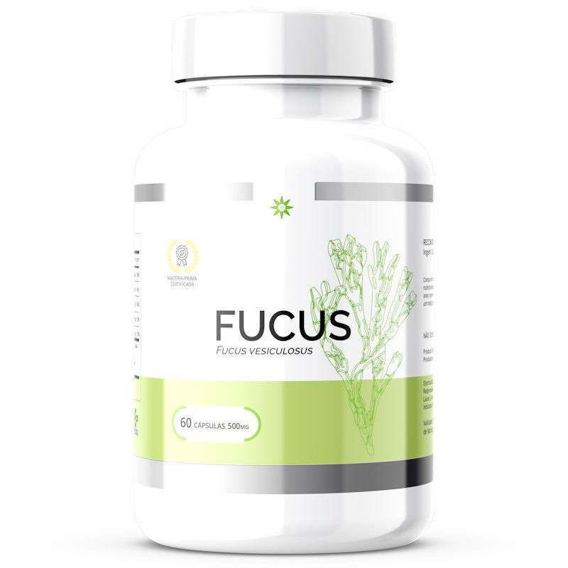 Fucus - Extrato Seco - 500mg 60 Cápsulas