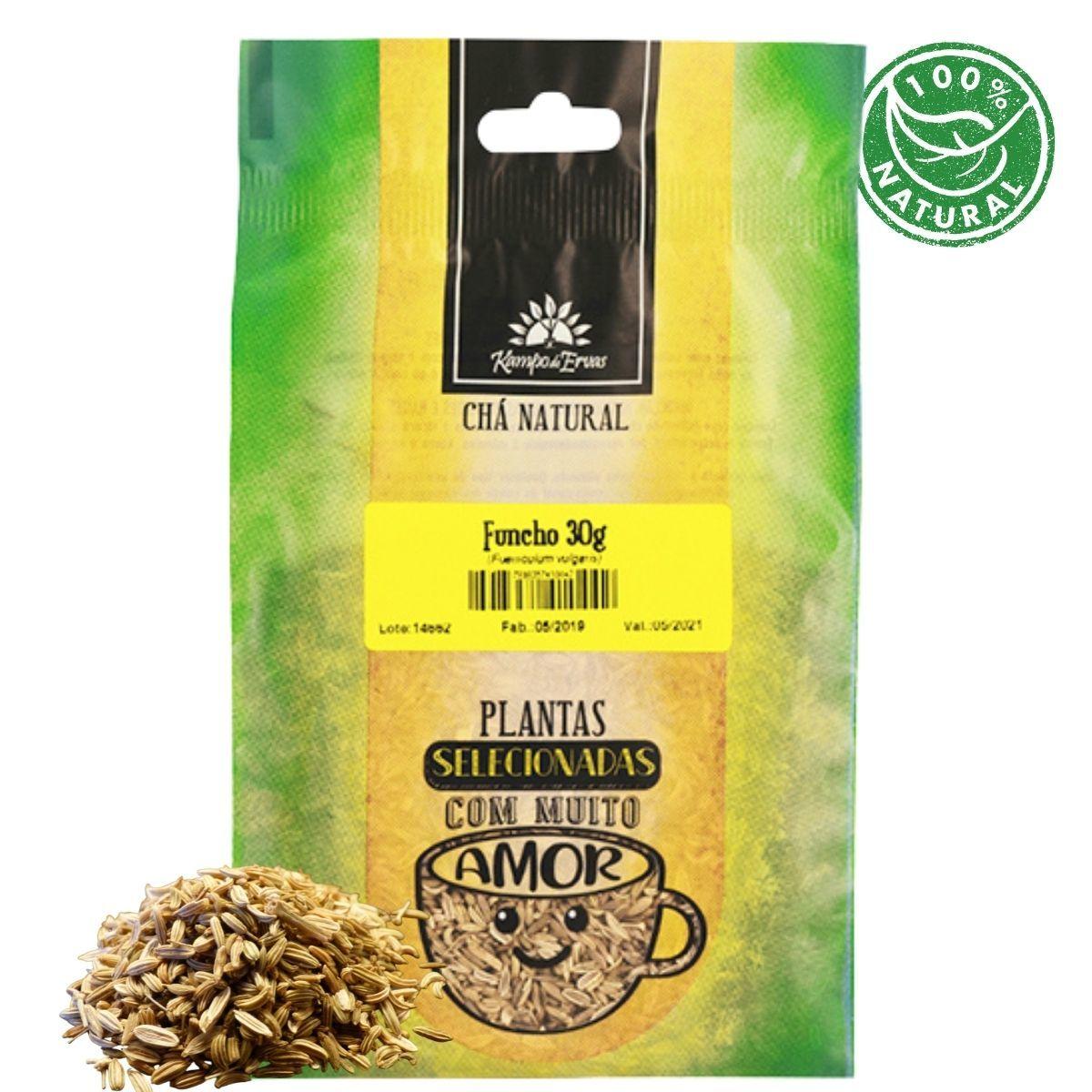Funcho Natural Chá da Semente Kampo de Ervas 30 gramas