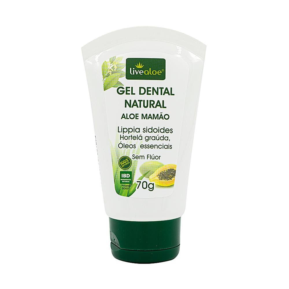 Gel Dental Aloe Mamão