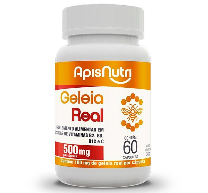 GELEIA REAL - 500MG (60 CAPS)