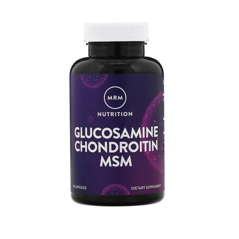 Glucosamina  Condoritina com MSM 90 Cáps. MRM