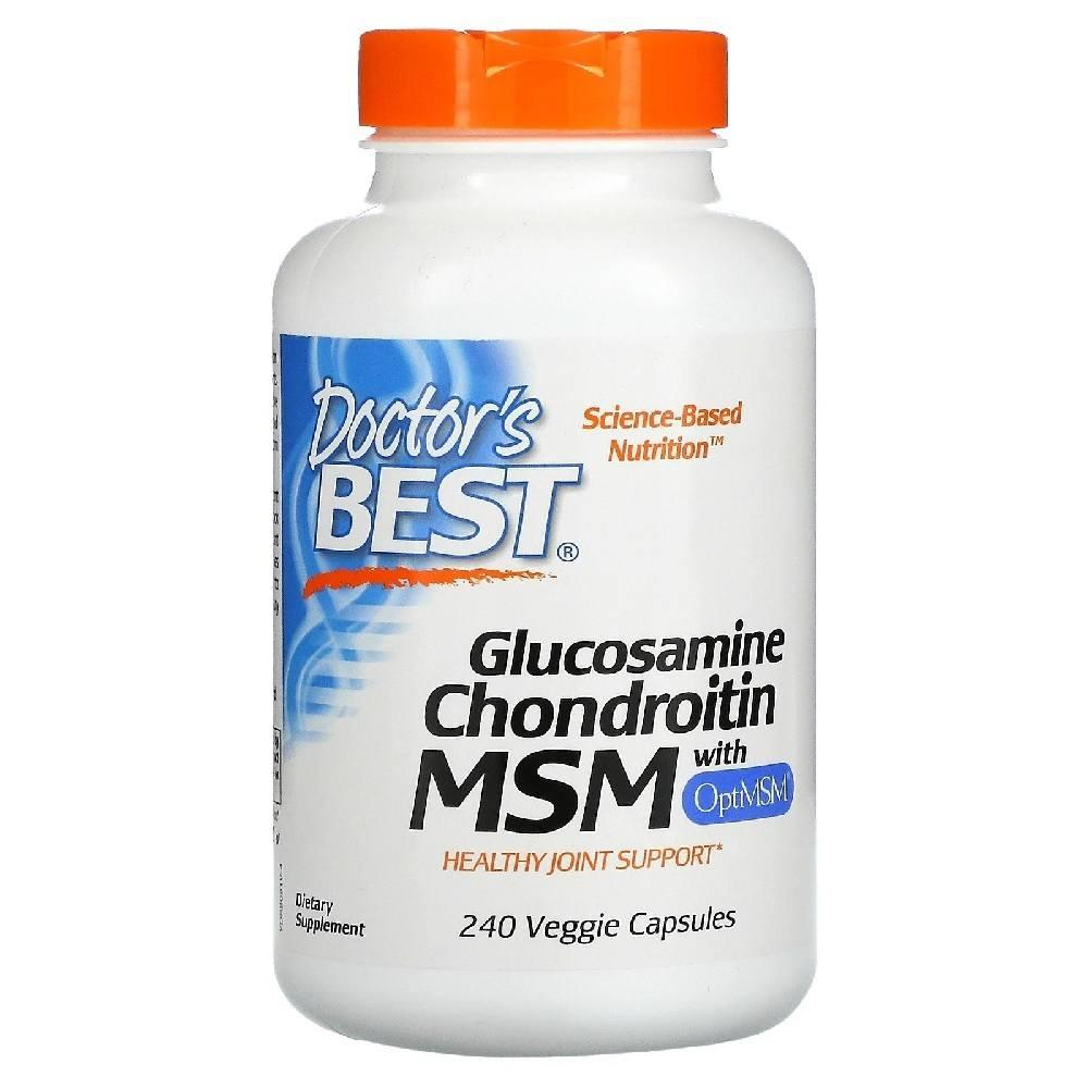 Glucosamina Condroitina MSM 240 Cáps. Doctors Best