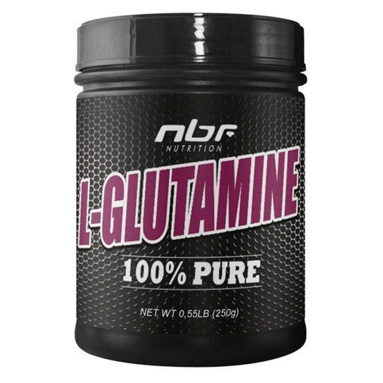 Glutamina L-Glutamine 100% Pure 250Gr Nbf
