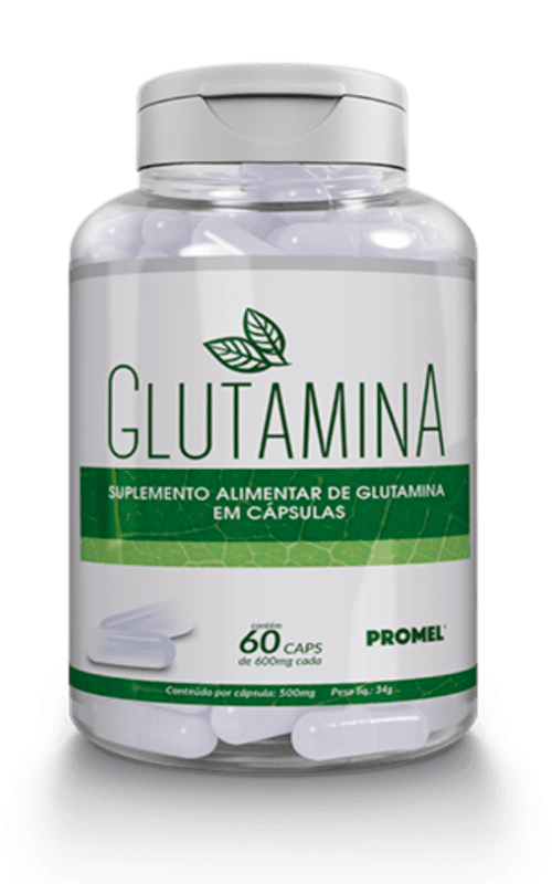 Glutamina – Promel – 60 Cápsulas – 600mg