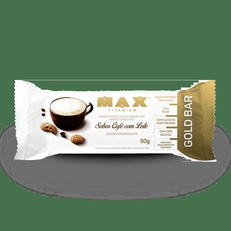 Gold Bar Max Titanium Cafe Com Leite