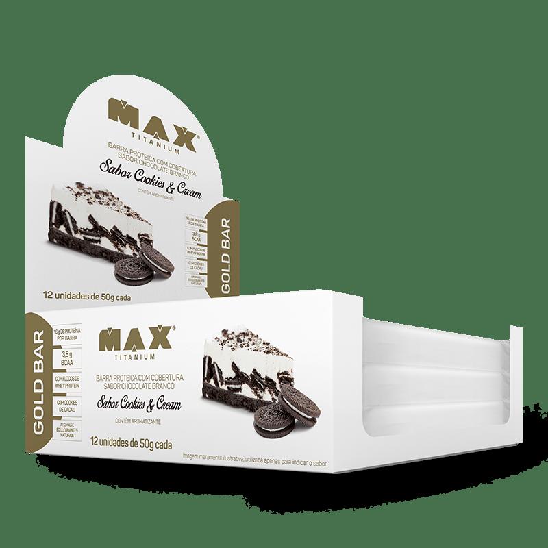 Gold Bar Max Titanium Cookies And Cream