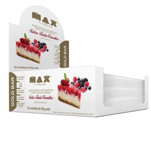 Gold Bar Max Titanium Frutas Vermelhas