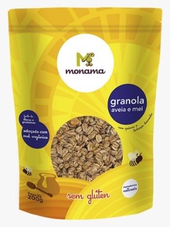 Granola Aveia E Mel 200g - Monama