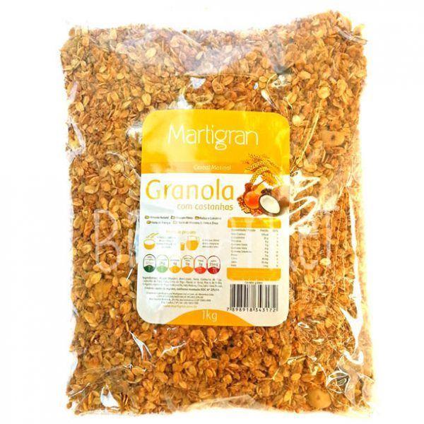 Granola c/ Castanha – Martigran – 1kg