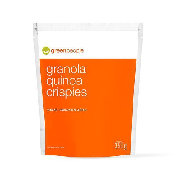 Granola Crocante Quinoa Crispies Vegana Greenpeople 350g