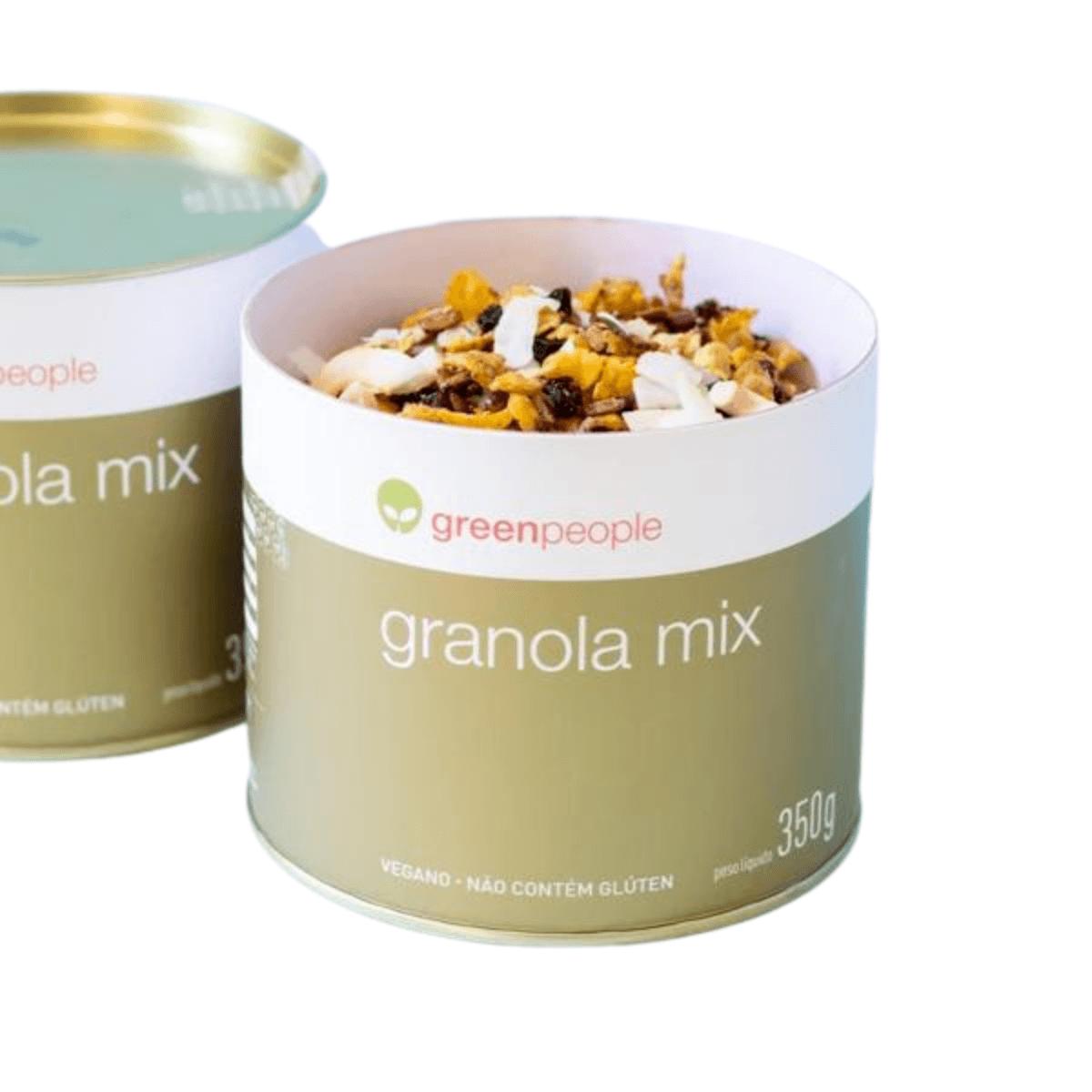 Granola Mix Crocante de Castanhas Vegano Greenpeople 350 g