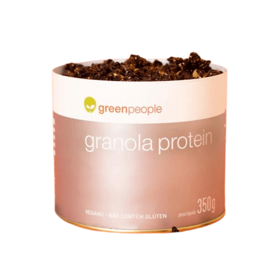 Granola Protein Rica em Fibras Vegana Greenpeople 350 g