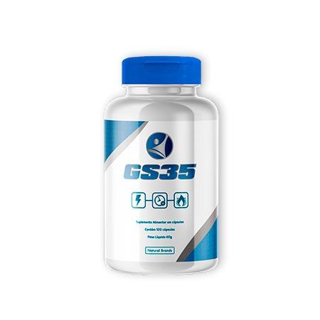 GS35 - 120 capsulas (Tratamento para 02 meses - 01 Frasco)