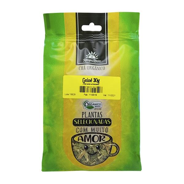 Guiné Chá Orgânico 100% Folhas Kampo de Ervas 3und 30g cada