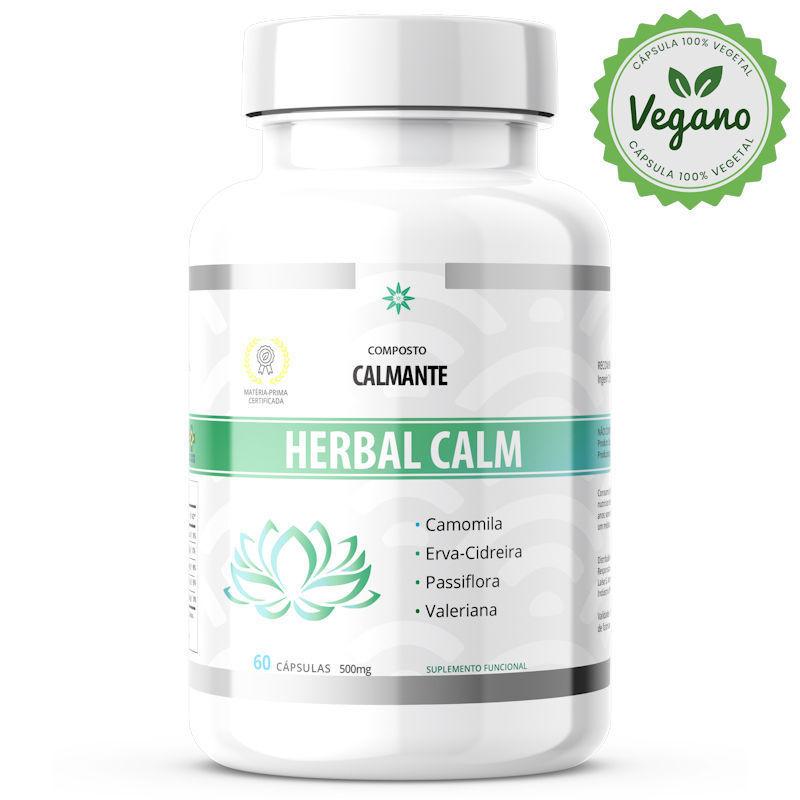 Herbal Calm VEGANO 500mg 60 Cápsulas