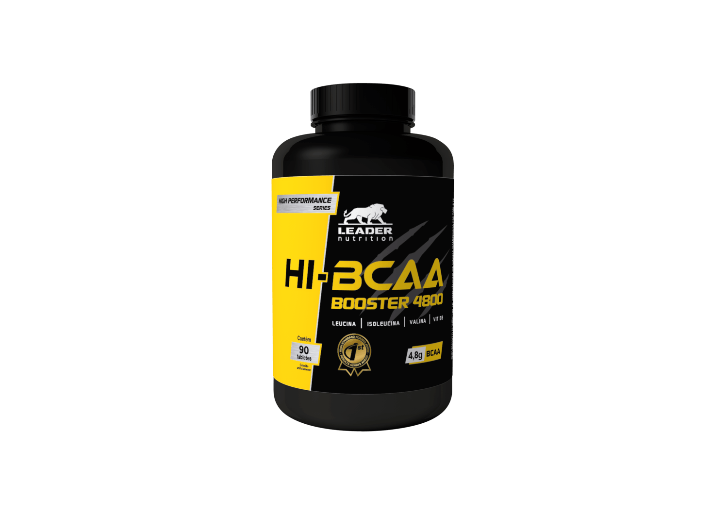 Hi-Bcaa Booster 4800 - 90Caps Leader Nutrition