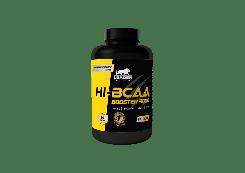 Hi-Bcaa Booster 4800 - 90Caps Leader Nutrition